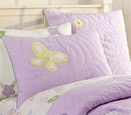 Lindsey Standard Quilted Sham, Lavender