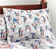 <em>Captain America</em> Comic Standard Sham