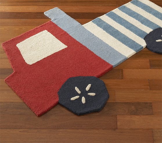 Shaped Truck Rug Swatch