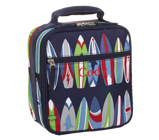 Mackenzie Surfboard Classic Lunch Bag