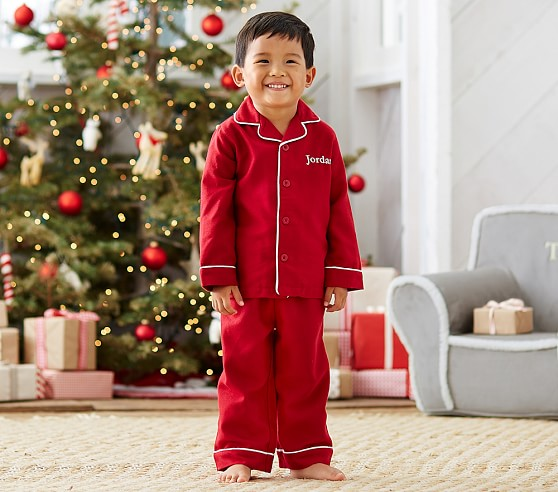 Red Flannel Pajama | Pottery Barn Kids