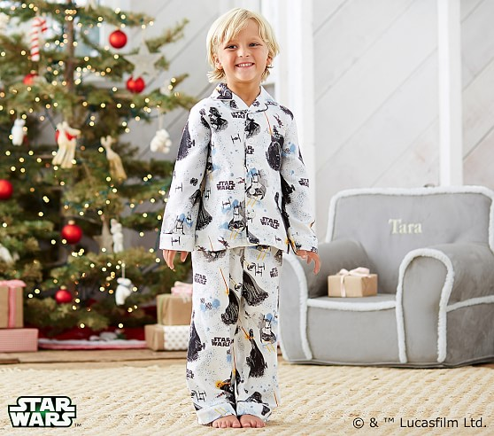 Star Wars™ Flannel Pajama   Pottery Barn Kids