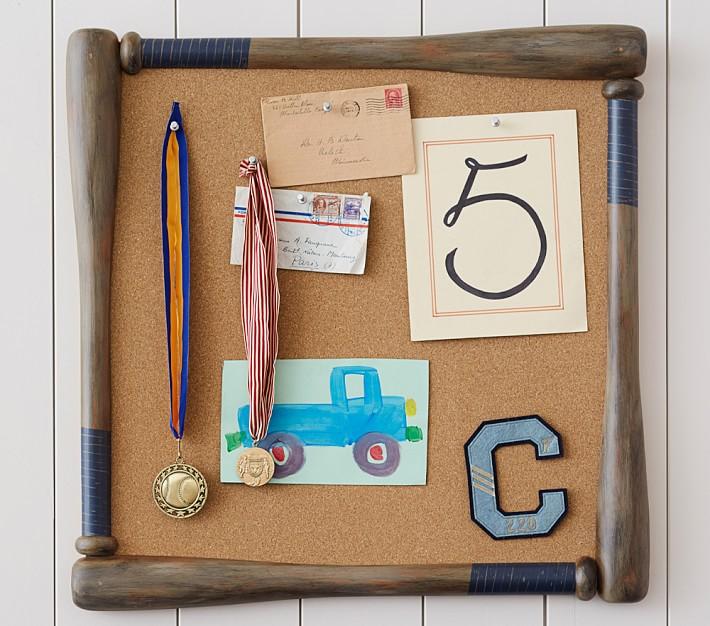 baseball bat corkboard