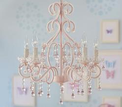 baby chandeliers  nursery chandeliers  pottery barn kids, Lighting ideas