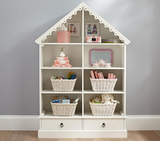 Dollhouse Bookcase   Pottery Barn Kids