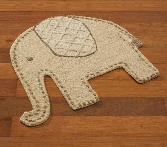Elephant Rug Pottery Barn Kids