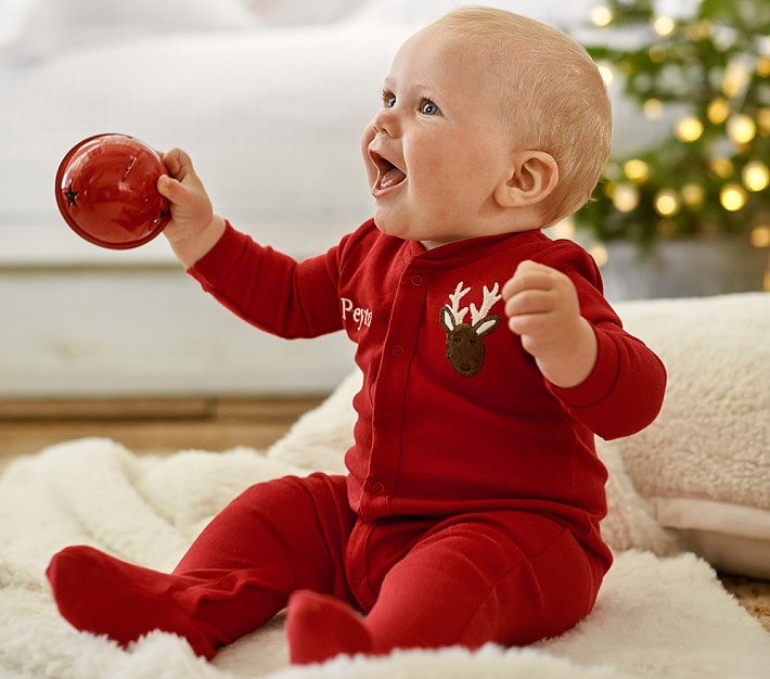 Reindeer Nursery Pajamas | Pottery Barn Kids