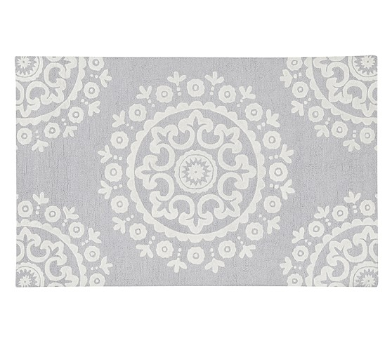 McKenna Rug 3x5 ft Gray