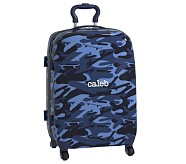 Hard-Sided Large Spinner Luggage, Mackenzie Blue Skateboard Camo