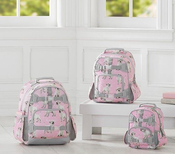 Mackenzie Pink Puppy Backpack | Pottery Barn Kids