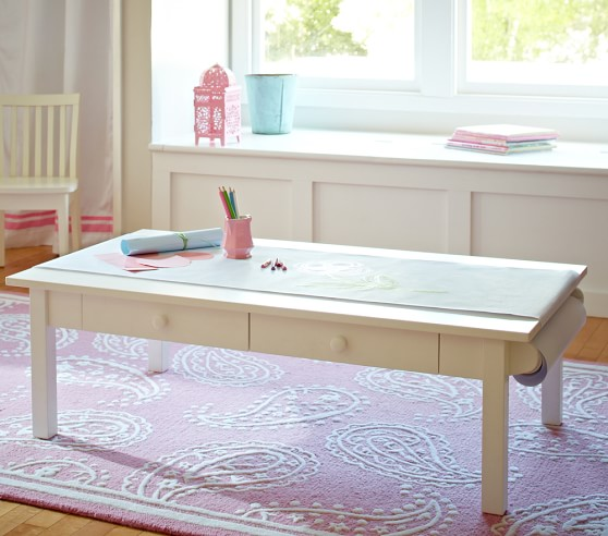 kid craft table carolina grow with you craft table pottery barn 2271