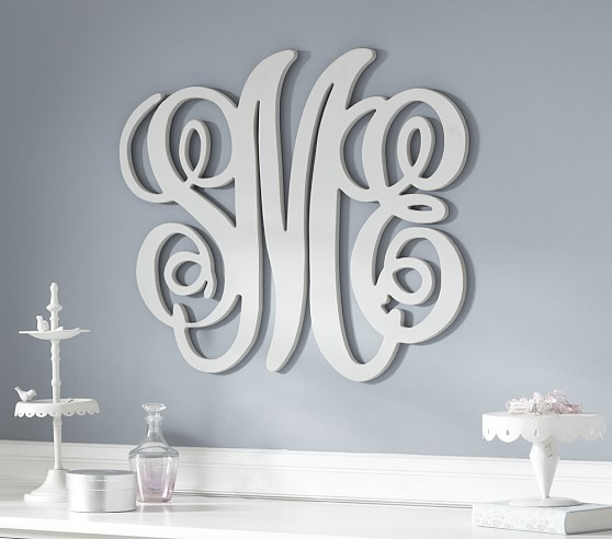 Harper Personalized Monogram Letters Pottery Barn Kids