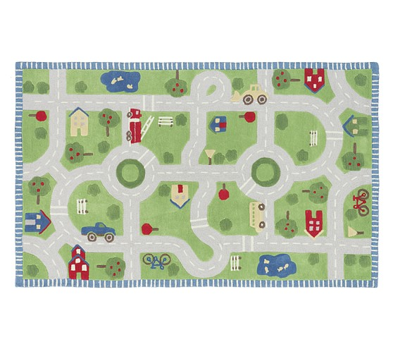 Attractive kids car play rugs | Furniture Shop YY38